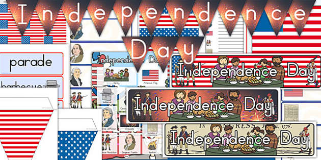 American Independence Day Display Pack - usa, independence day