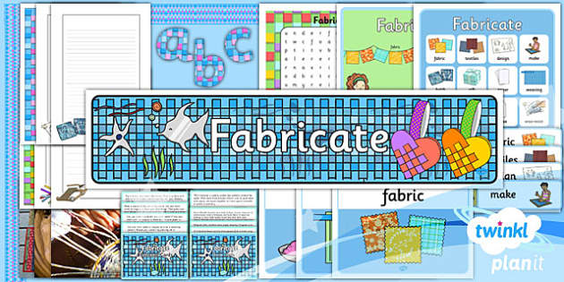 PlanIt - Art KS1 - Fabricate Additional Resources - planit, art