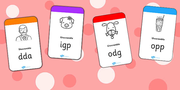 CVC Flashcards - cvc, flashcards, activity, activities, cards