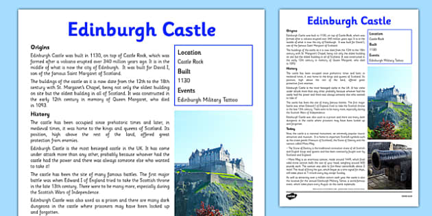 KS2 Scottish History Primary Resources - KS2 History Scottish