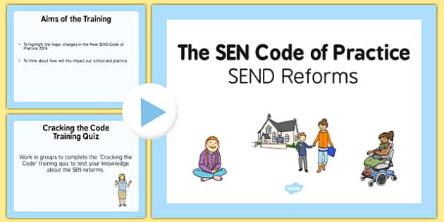 The SEN Code of Practice PowerPoint Primary - sen code of practice, sen, code, practice, powerpoint, primary