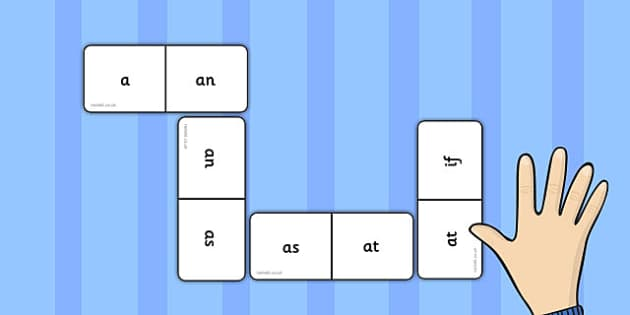 Phase 2 High Frequency Words Dominoes - dominoes, phase 2, words