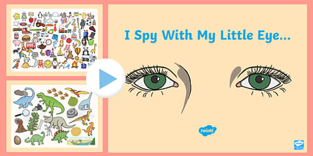I Spy With My Little Eye PowerPoint - class games, group games