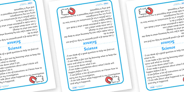 Tabletop Visual Targets Science - science, sign, table sign, target, test, question, experiment, what happened, investigation, follow instruction