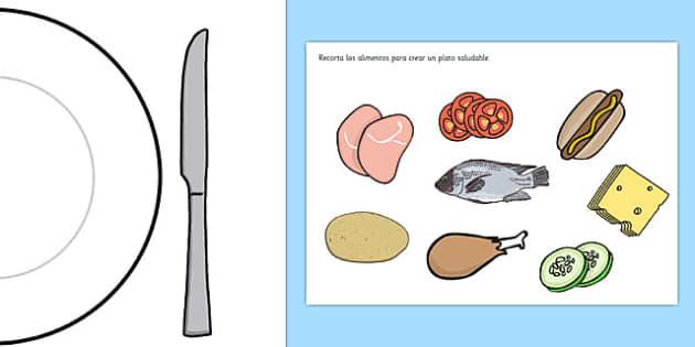 Actividad de comida saludable - salud, personal, comer bien, prevención enfermedad, vivir, vida