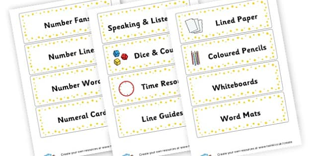 Drawer Labels - Classroom Labels Primary Resources, book label, resource label