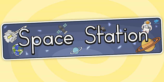 Space Station Display Banner (Australia) - displays, banners