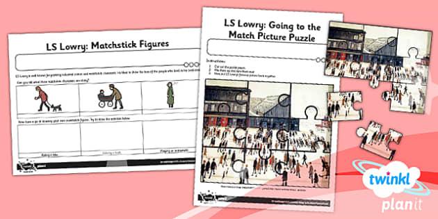PlanIt - Art KS1 - LS Lowry Unit Home Learning Tasks