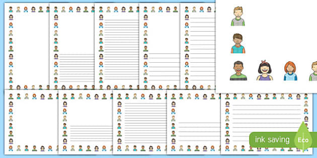 World Smile Day Page Border Pack