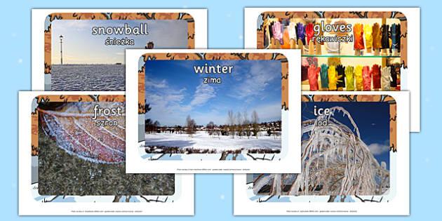 Winter Display Photos Polish Translation - polish, winter, display, photos, display photos