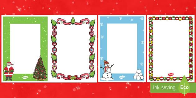 Editable Christmas Card Insert Template - Christmas, Nativity, Jesus, xmas, Xmas, Father Christmas, Santa, St Nic, Saint Nicholas, traditions,