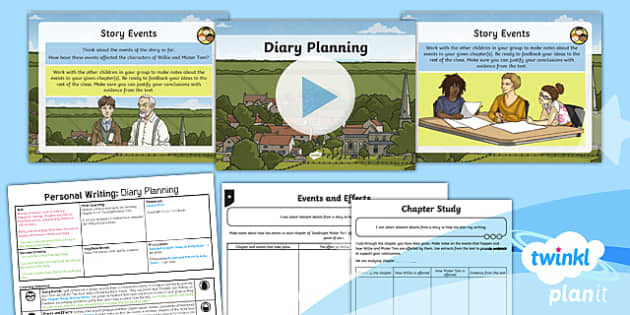 PlanIt Y5 World War II: To Support Teaching on Goodnight Mister Tom Lesson Pack Personal Writing (1)