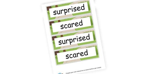 Feelings Cards  - Emotions & Behaviour SEN Primary Resources, Dyslexia , SEN, EAL