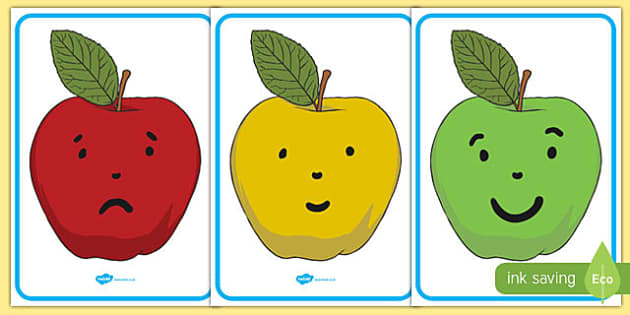 Behaviour Management Apple Traffic Light Cards - traffic, cards