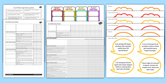 2014 Curriculum Year 5 Maths Assessment Resource Pack - numeracy