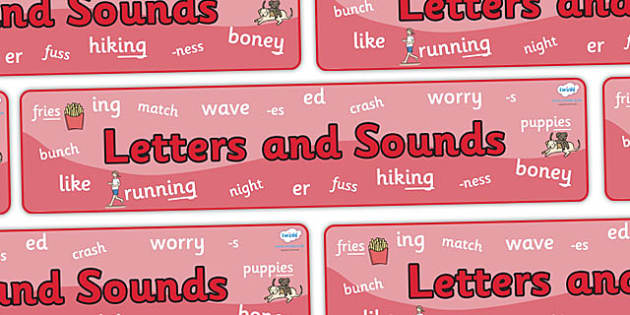 Phase 6 Display Banner - Phase 6, phase six, Phases, Foundation, Literacy, Letters and Sounds, display banner, Alphabet, A-Z letters, Alphabet flashcards, letters and sounds, DfES, display