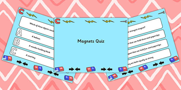 Magnets PowerPoint Quiz - magnets, powerpoint, quiz, quizzes