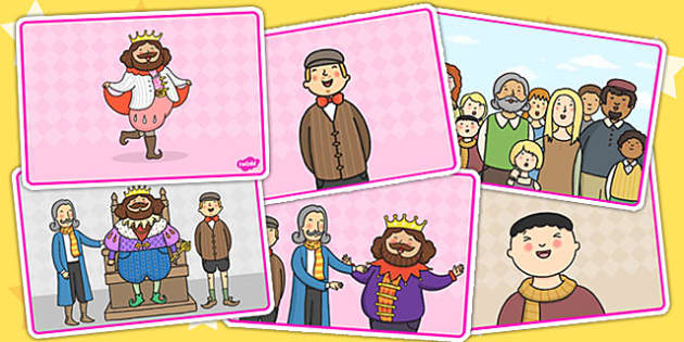 The Emperors New Clothes Short Story Sequencing - story books