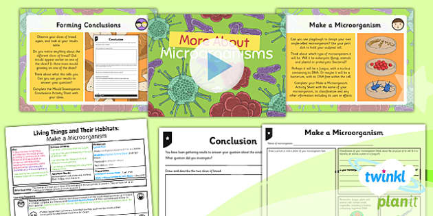 PlanIt - Science Year 6 - Living Things and Their Habitats Lesson 5: More About Microorganisms Lesson Pack - microbe, bacteria, mould