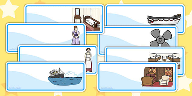 The Titanic Drawer Peg Name Labels - titanic, labels, name labels