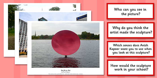 Anish Kapoor Photopack and Prompt Questions - photopack, kapoor