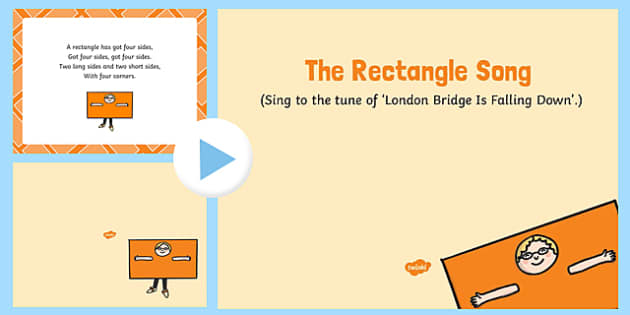 The Rectangle Song PowerPoint