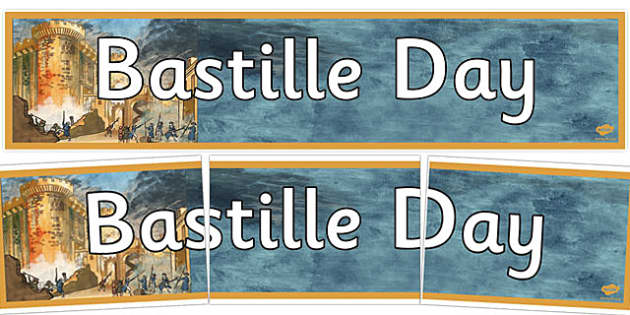 Bastille Day Display Banner - bastille day, display banner, banner