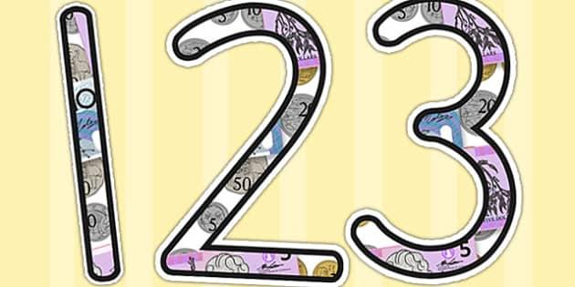 Money Display Numbers - australia, money display, number, display