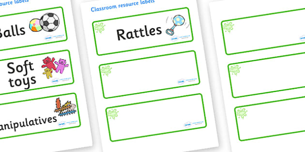 Green Themed Editable Additional Resource Labels - Themed Label template, Resource Label, Name Labels, Editable Labels, Drawer Labels, KS1 Labels, Foundation Labels, Foundation Stage Labels, Teaching Labels, Resource Labels, Tray Labels, Printable la