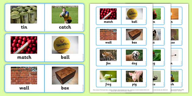 Photo Rhyming Loop Cards - photo rhyming, photo, rhyme, loop cards, loop, cards