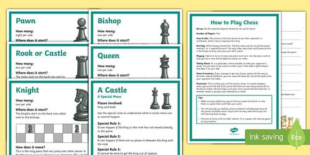 Chess Club Resource Pack