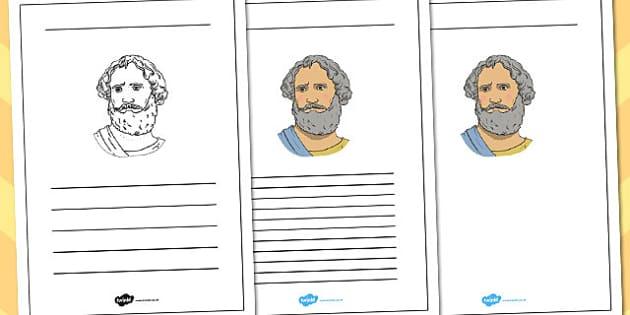 Archimedes Writing Frame - archimedes, writing, frame, write
