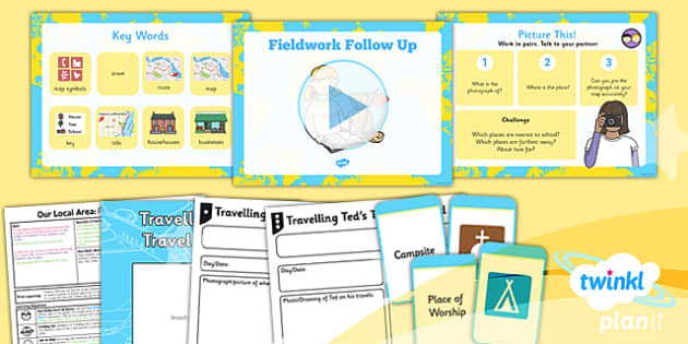 PlanIt - Geography Year 1 - Our Local Area Lesson 3: Fieldwork Follow Up Lesson Pack