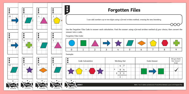 Adding Two-Digit Numbers, Bridging Through 10 and 100 Activity Sheet - Addition and Subtraction, add, more, plus, and, make, altogether, total, equal to, worksheet, equals
