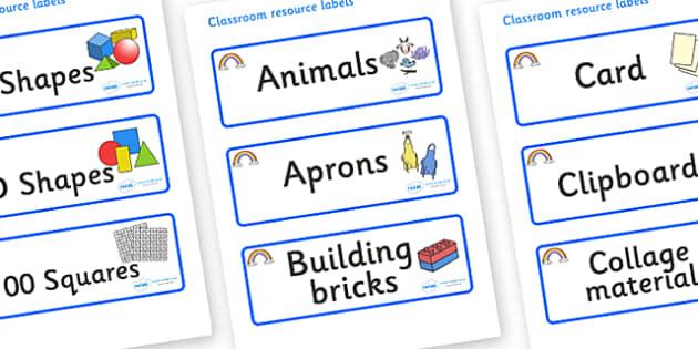 Rainbow Themed Editable Classroom Resource Labels - Themed Label template, Resource Label, Name Labels, Editable Labels, Drawer Labels, KS1 Labels, Foundation Labels, Foundation Stage Labels, Teaching Labels, Resource Labels, Tray Labels, Printable l