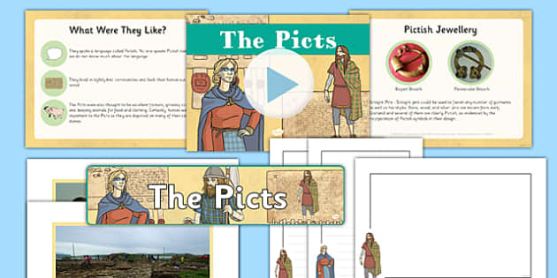 The Picts Resource Pack - CfE, Social Studies, The Picts, resource pack