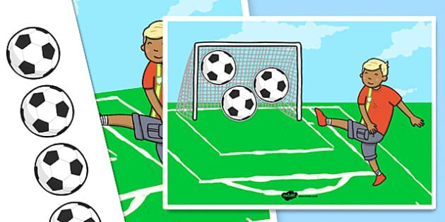 Football Goals Reward Chart - football, goals, reward, chart