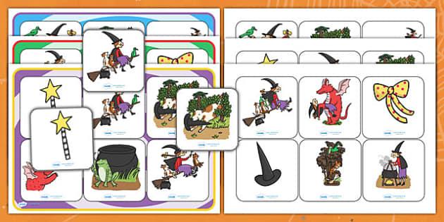Matching Mat Activity to Support Teaching on Room on the Broom - room on the broom, matching mat, matching, SEN, SEN mat, matching activity, matching games, SEN activities