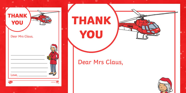 Thank You Letter to Mrs Claus Activity - M&S Christmas, Marks, Spencers, Advert, Mrs Christmas, Mrs Claus