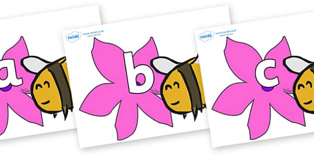 Phoneme Set on Bees - Phoneme set, phonemes, phoneme, Letters and Sounds, DfES, display, Phase 1, Phase 2, Phase 3, Phase 5, Foundation, Literacy