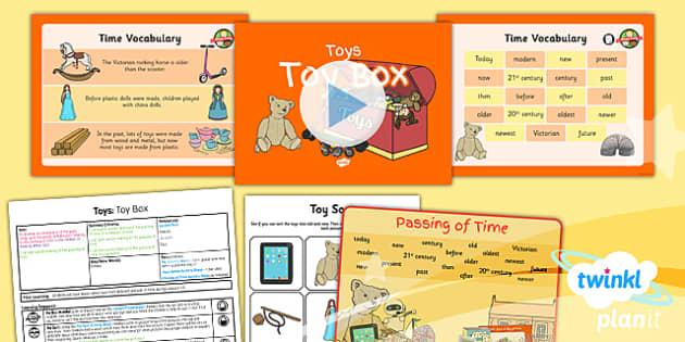 PlanIt - History KS1 - Toys Lesson 6: Toy Box Lesson Pack