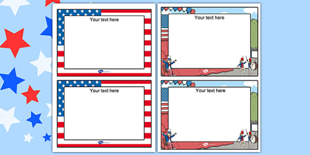 Independence Day Editable Note - independence day, note, edit