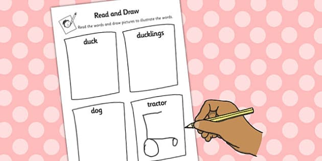 The Tale of Jemima Puddle-Duck Read and Draw Worksheet - puddle-duck