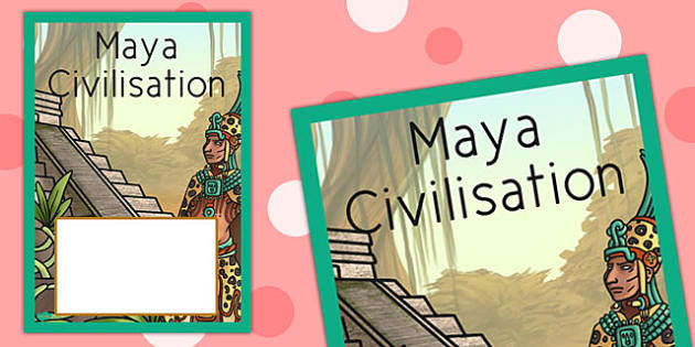Maya Civilisation Book Cover - maya, civilisation, book, cover
