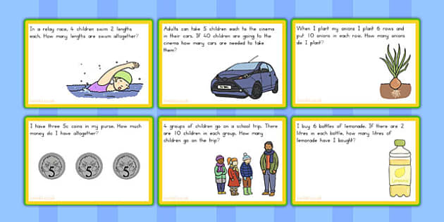 Australian Multiplication and Division Challenge Cards - australia