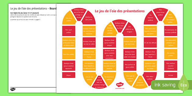 French Introductions Board Game