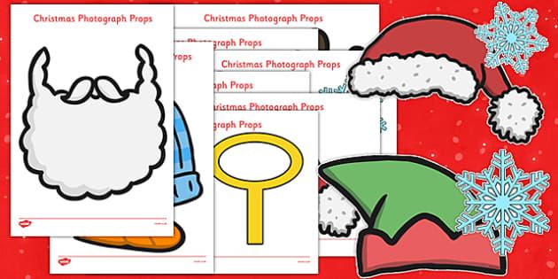 Christmas Photo Props - christmas, photo, props, photo props