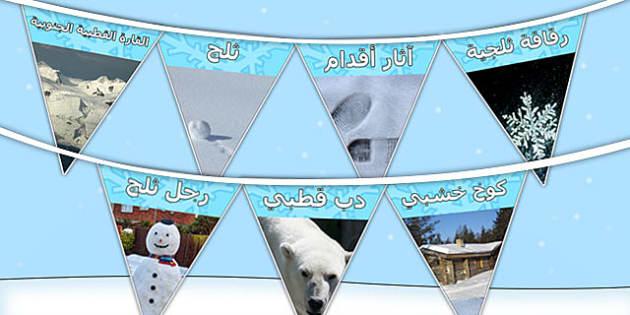 رايات عرض صور الشتاء - موارد تعليمية، وسائل تعليمية، الطقس