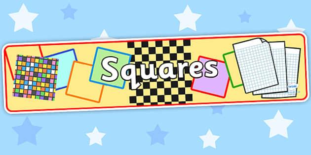 Squares Display Banner - squares, squares display banner, squares banner, squares display, display banner, banner
