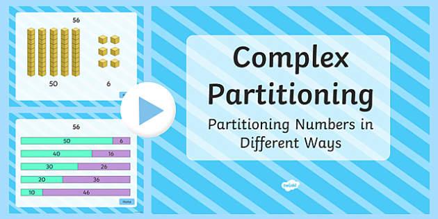 2-Digit Complex Partitioning PowerPoint